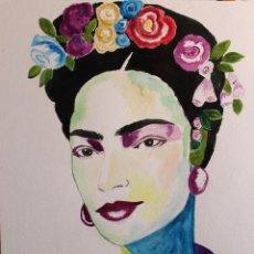 Arte: FRIDA KHALO OBRA DE GILABERTE. Lote 254181165