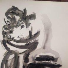"""Arte: """" LA EMBOZADA"""" JOSÉ ANTONIO MOLINA SÁNCHEZ (MURCIA 1918-2009). Lote 254629420"""