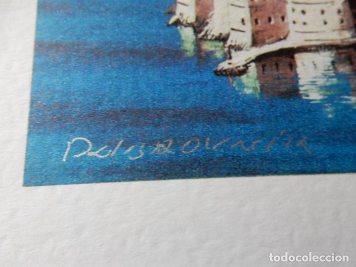 Arte: Acuarela Original Vista de Dubrovnik. Firmada Angulo Inferior Derecho - Foto 3 - 254673655