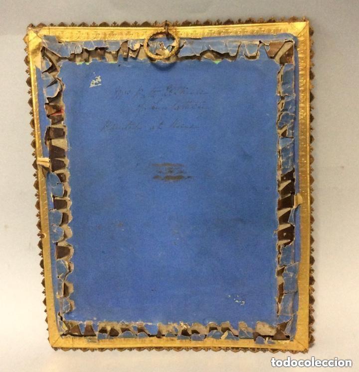 Arte: Miniatura del siglo XIX,Escuela Francesa Firma Ilegible - Foto 4 - 254753365