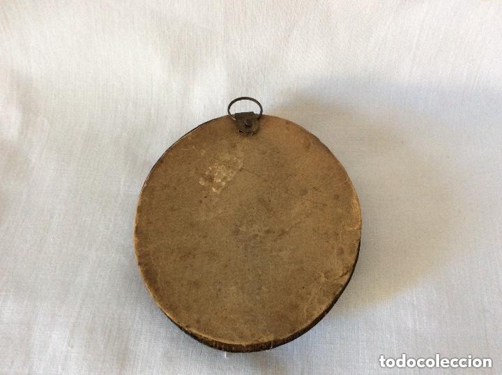 Arte: GADOU-BOYER ,miniatura sobre marfil ,firmada y fechad 1851 - Foto 3 - 254755050