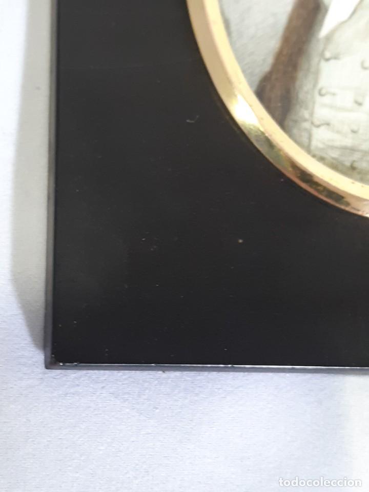 Arte: Retrato de caballero. Miniatura. Marco de época.Inglaterra. Siglo XVIII-siglo XIX. - Foto 10 - 255600925