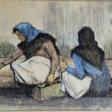 Arte: PINTURA COSTUMBRISTA POR RAFAEL GARRICH (1930-1994). Lote 255982475