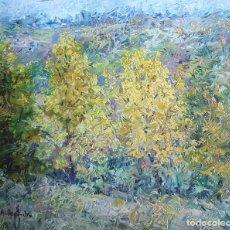 Arte: ALBERT ERNEST JR (1891-1955) (ATRR.) PINTOR AMERICANO. ACUARELA S/PAPEL PEGADO A CARTON.. Lote 256086960