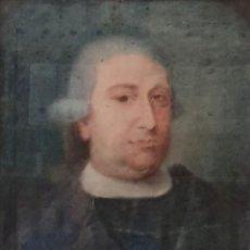 Arte: GIACOMO CAMBRUZZI - 1785 - PASTEL Y PERGAMINO - RETRATO JACOBO MARÍA SPINOSA CANTABRANA.. Lote 257481435