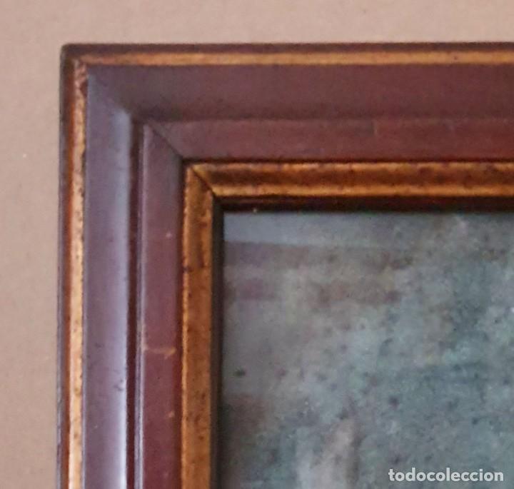 Arte: GIACOMO CAMBRUZZI - 1785 - PASTEL Y PERGAMINO - RETRATO JACOBO MARÍA SPINOSA CANTABRANA. - Foto 7 - 257481435