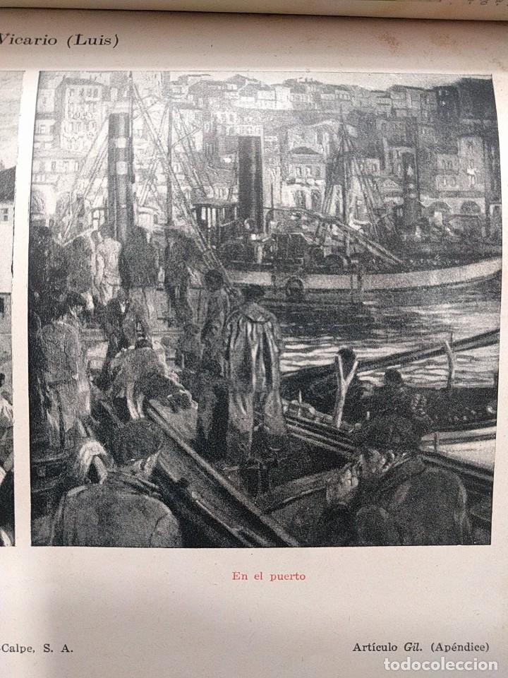 Arte: Puerto de Vigo. Luis Gil de Vicario (1898-1959). 1932. Técnica mixta. Junta Ampliación de Estudios - Foto 7 - 260076225