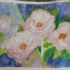 Arte: ANTIGUA ACUARELA PAISAJE. Lote 260511220