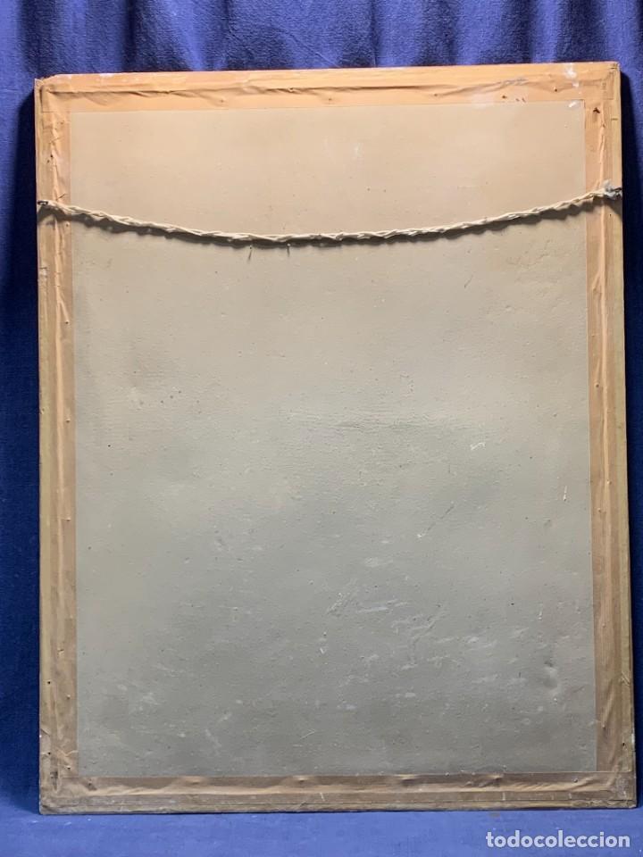 Arte: ACUARELA MODA MUJER CON CAPA Y GORRO FIRMA MIGUEL FLORES 1953 68X53CMS - Foto 22 - 260585340