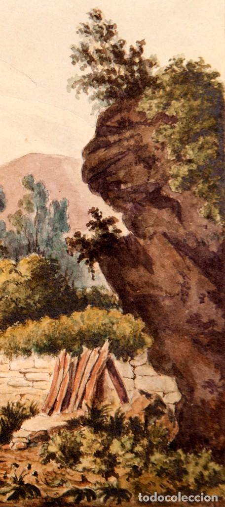 Arte: GUISSONA 1854 - ACUARELA DE J. SOLDEVILA - Foto 6 - 261363690