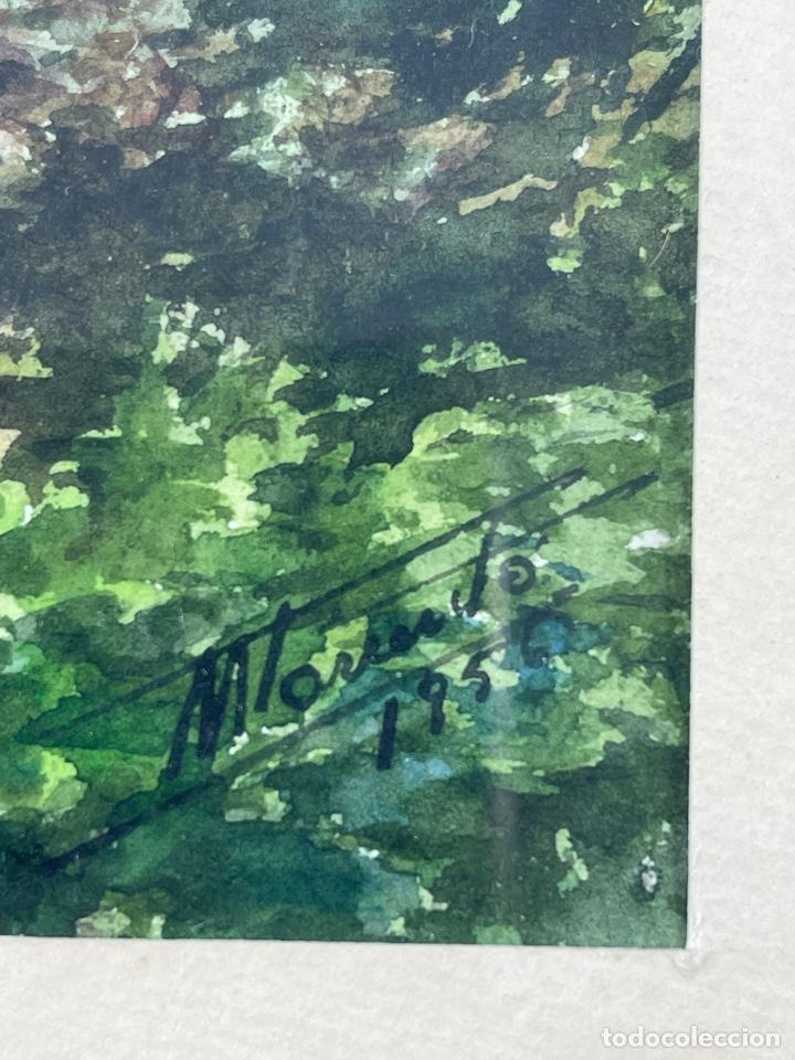Arte: C-1006. ACUARELA SOBRE PAPEL. FIRMADA 1956. - Foto 3 - 262735300