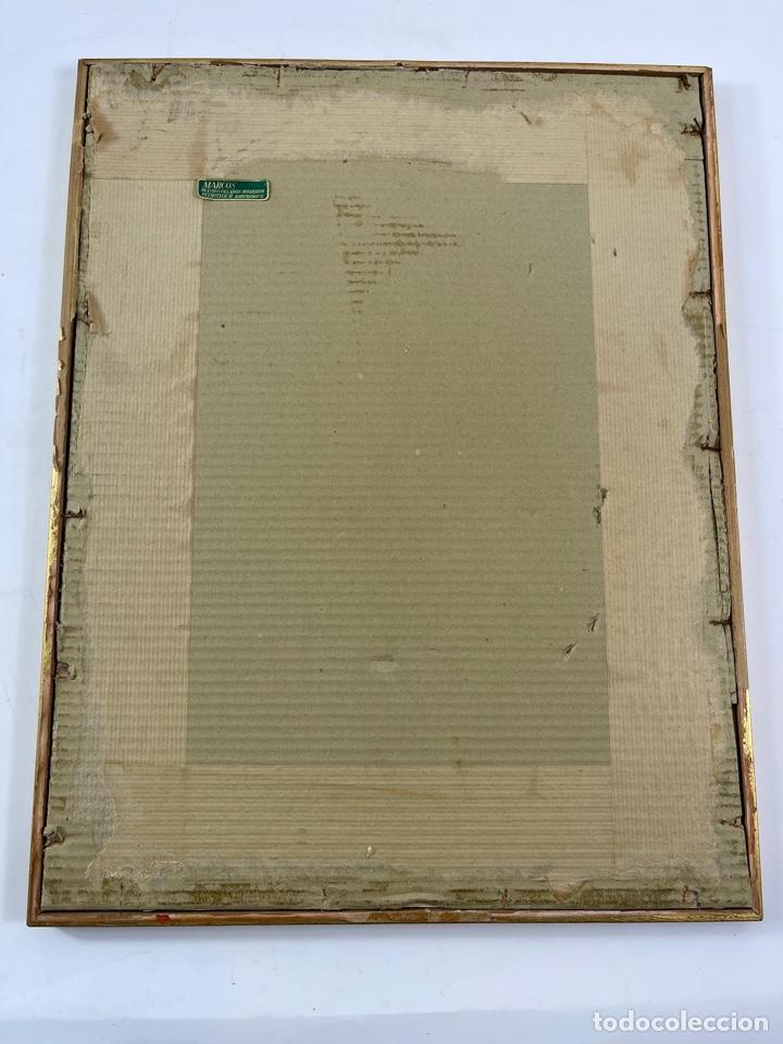 Arte: C-1005. ACUARELA SOBRE PAPEL. FIRMADA 1956. - Foto 5 - 262735485