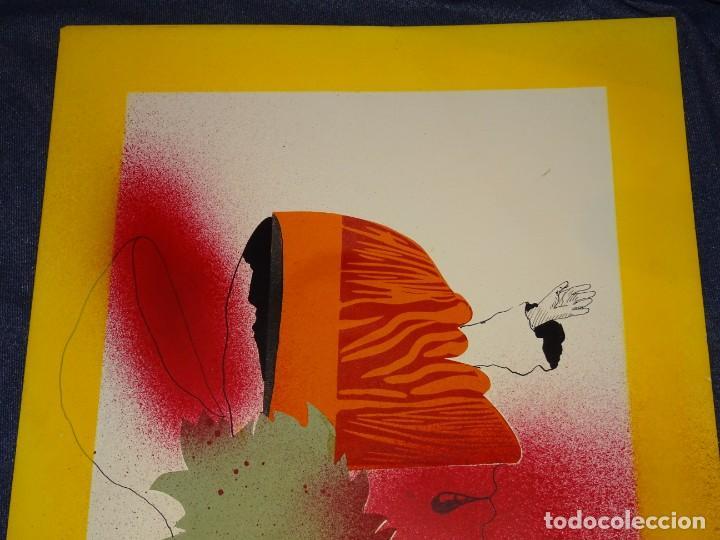 Arte: (M) FRANCESC ARTIGAU 1972 SERIE MAN28 - DIBUJO ORIGINAL ABSTRACTO, 32,5X44CM, TÉCNICA MIXTA - Foto 4 - 262876285