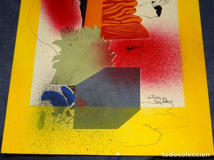 Arte: (M) FRANCESC ARTIGAU 1972 SERIE MAN28 - DIBUJO ORIGINAL ABSTRACTO, 32,5X44CM, TÉCNICA MIXTA - Foto 6 - 262876285