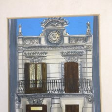 Arte: LAMINAS ORIGINALES PINTADAS A MANO. SARRIÀ, BARCELONA. Lote 263000740