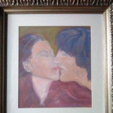 Arte: JOHN LENNON CON YOKO ONO. Lote 263043530
