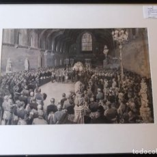 Arte: MATANIA, FORTUNINO. THE FUNERAL SERVICE OF H.R.H. KING EDWARD VII IN ST. GEORGE'S CHAPEL, WINDSOR. Lote 263603265