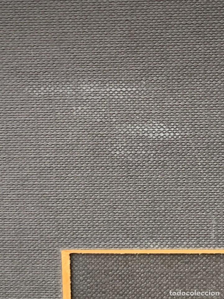 Arte: CUADRO ACUARELA GOUACHE AEROGRAFO AÑOS 70 80 ESPACIO SATELITE NAVE ERA ESPACIAL JIMENO 51X60CMS - Foto 18 - 265954203
