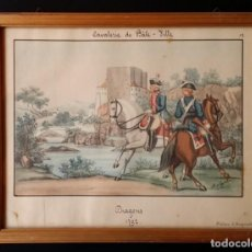 Arte: ALBERT VON ESCHER, ACUARELA DE 1880 FIRMADA, Nº 12. Lote 267241664