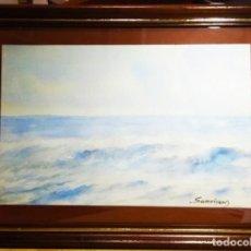 Arte: OLEAJE OBRA DE RAMON SANVISENS. Lote 268888509
