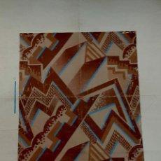 Arte: ART DECÓ - 1920 - GOUACHE - DISEÑO DE ALFOMBRA - SELLO EUGENE LEFEBVRE. Lote 268893629