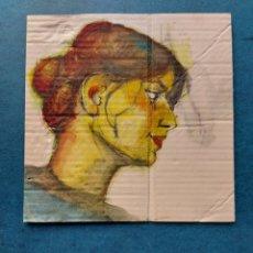 """Arte: BOCETO AL NATURAL"""" ROSTRO JOVEN MODELO""""ORIGINAL. Lote 269127483"""