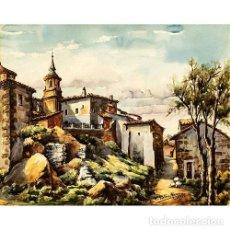 Arte: ACUARELA PORTERO MARZO. Lote 269165043