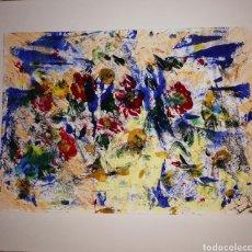 Arte: ACUARELA Y ACRILICO ORIGINAL 28X21. Lote 269219518