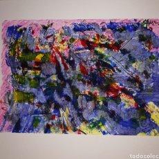 Arte: ACUARELA Y ACRILICO ORIGINAL 28X21. Lote 269219643