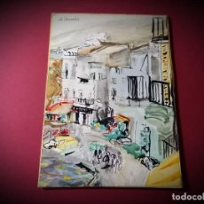 Arte: ACUARELA ORIGINAL AMADEU CASALS. Lote 269358128