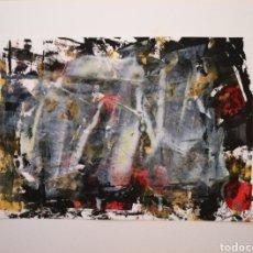 Arte: ACUARELA Y ACRILICO ORIGINAL 28X21. Lote 269955303