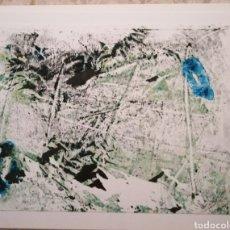 Arte: ACUARELA Y ACRILICO ORIGINAL 28X21. Lote 269982368
