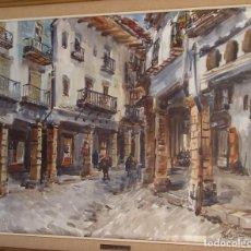 Art: 2 ACUARELAS DE V. PASTOR CALPENA. Lote 273469573