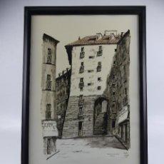 Art: MARTIN HIDALGO ARCO DE CUCHILLEROS. Lote 275513538