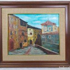 Arte: CUADRO FIRMADO 50 X 57 CM. Lote 275743223