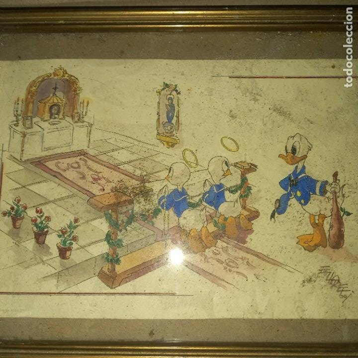 Arte: Antigua pintura firmada - Foto 4 - 276114313