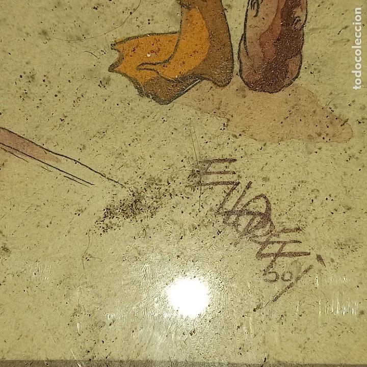 Arte: Antigua pintura firmada - Foto 2 - 276114313