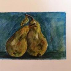 Arte: 2 ACUARELAS ORIGINAL MINIATURAMEDIDAS. 16X12 CM. Lote 276315278