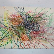 Arte: ACUARELA TÉCNICA MIXTA SOBRE PAPEL FIRMADO POR PABLO REY.. Lote 276517598