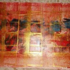 Arte: ACRILICO ORIGINAL 29X21 ABSTRACTO. Lote 276591343