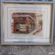 Art: ACUARELA ORIGINAL FIRMADA J.VERA FECHADA. Lote 276691073