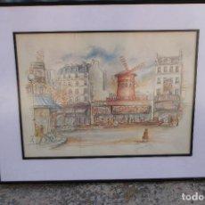 Art: ACUARELA ORIGINAL FIRMADA. Lote 276691528