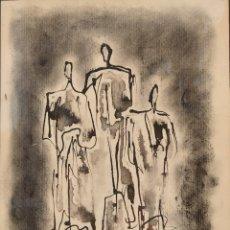 Arte: CHARLES COLLET (SUIZA 1902- BARCELONA 1983) ACUARELA. Lote 277154198