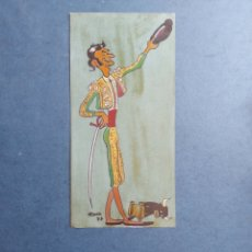 """Arte: ROCA"""" CARICATURA DEL TORERO SALUDANDO"""" DIBUJO ORIGINAL 1977. Lote 277163038"""