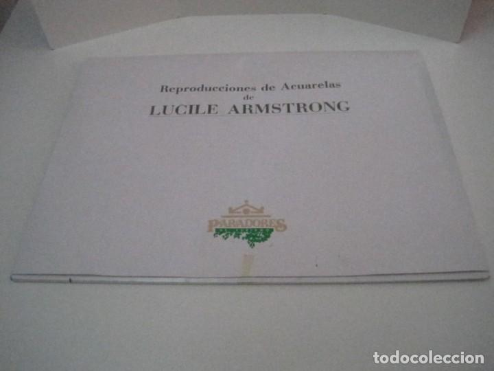 Arte: REPRODUCCIONES DE ACUARELAS LUCILE ARMSTRONG. PARADORES DE TURISMO. FOLKLORE, TRAJES REGIONALES. - Foto 3 - 278194938