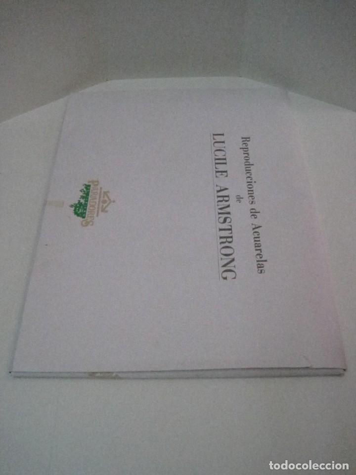 Arte: REPRODUCCIONES DE ACUARELAS LUCILE ARMSTRONG. PARADORES DE TURISMO. FOLKLORE, TRAJES REGIONALES. - Foto 4 - 278194938