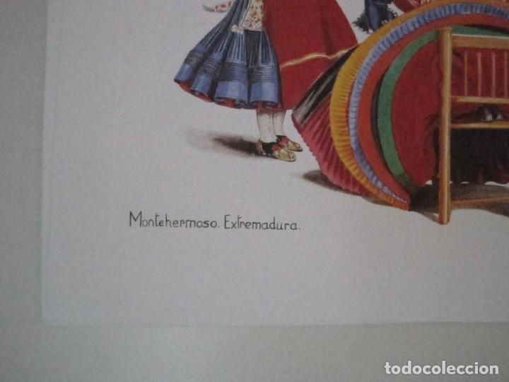 Arte: REPRODUCCIONES DE ACUARELAS LUCILE ARMSTRONG. PARADORES DE TURISMO. FOLKLORE, TRAJES REGIONALES. - Foto 11 - 278194938