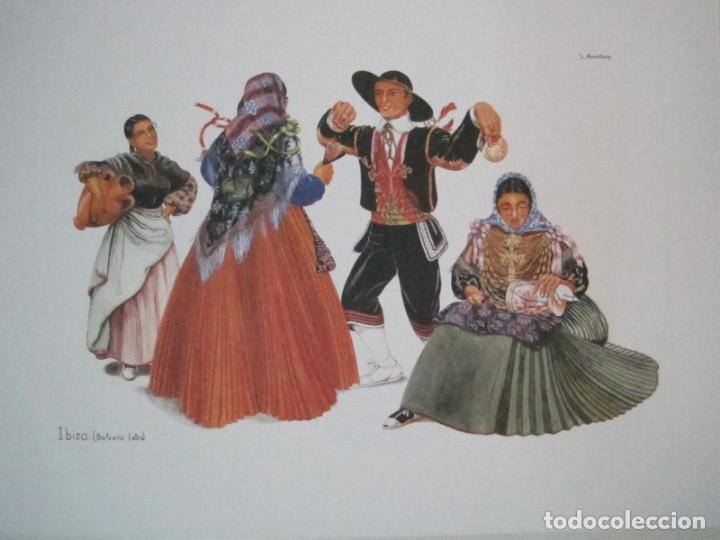 Arte: REPRODUCCIONES DE ACUARELAS LUCILE ARMSTRONG. PARADORES DE TURISMO. FOLKLORE, TRAJES REGIONALES. - Foto 12 - 278194938