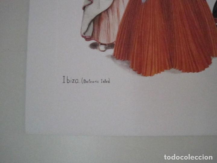 Arte: REPRODUCCIONES DE ACUARELAS LUCILE ARMSTRONG. PARADORES DE TURISMO. FOLKLORE, TRAJES REGIONALES. - Foto 14 - 278194938