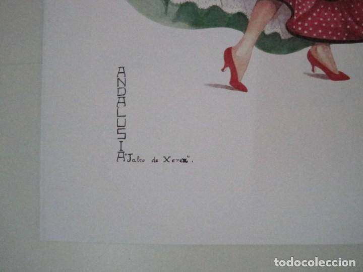Arte: REPRODUCCIONES DE ACUARELAS LUCILE ARMSTRONG. PARADORES DE TURISMO. FOLKLORE, TRAJES REGIONALES. - Foto 16 - 278194938